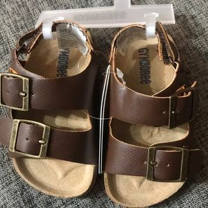 Baby Boy Brown Sandals